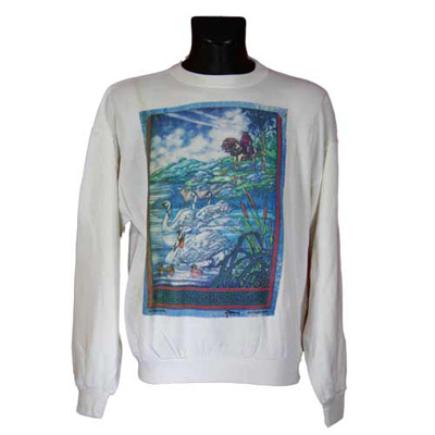 Three Swans Long Sleeve Irish T-Shirt