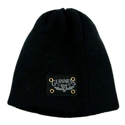 Black Guinness 1759 Knit Hat