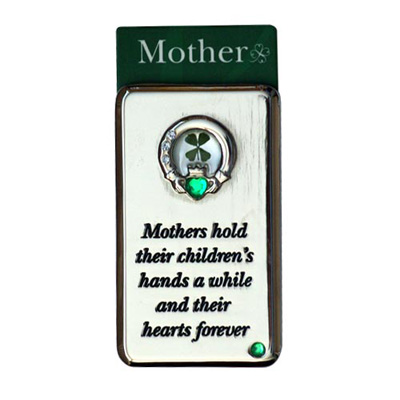 Lucky Irish fridge magnet – Mothers hold their children's...