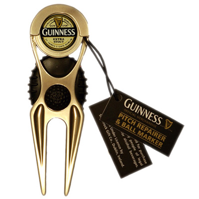 Guinness pitch repairer and ball marker – Guinness Label logo