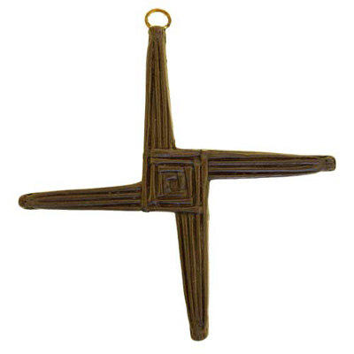 St Brigids Cross - Turf Irish Crosses