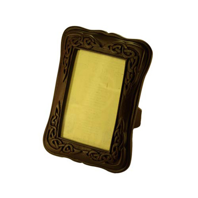 Black Celtic Turf Picture Frame - small