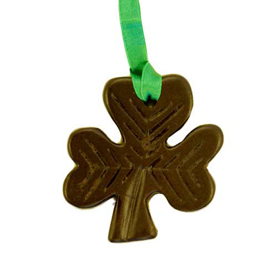 Shamrock - Irish turf christmas tree decoration