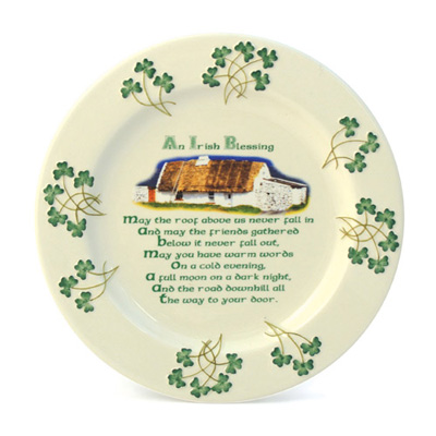 Watervale plate – Cottage Blessing