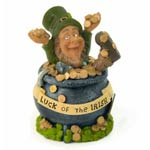 "Finnian - Luck of the Irish Pot of Gold (3.5"" high)"