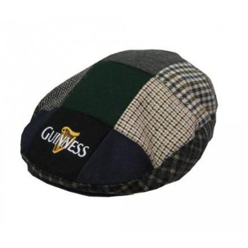 Tartan Guinness Flat Cap - Click Image to Close