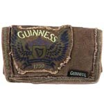 Guinness Wings Canvas Wallet Brown